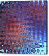Coral Abstract Acrylic Print
