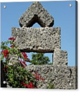 Coral Castle For Love Acrylic Print