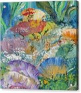 Coral Fantasy Acrylic Print