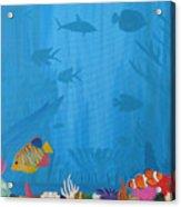 Coral Paradise Acrylic Print
