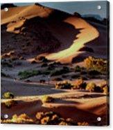 Coral Pink Sand Dunes Dawn Acrylic Print