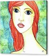 Coralia, The Mermaid Acrylic Print
