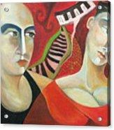 Corazon Pesado Acrylic Print