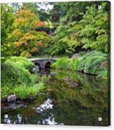 Corbel Arch Bridge Japanese Garden Maymont I Acrylic Print