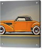 Cord 810 1937 Painting Acrylic Print