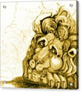 Cordoba Lion Acrylic Print