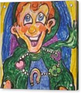 Corey The Lepperchaun Lucky Charms Acrylic Print
