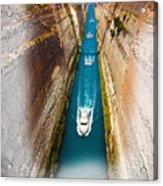 Corinth Canal  Acrylic Print