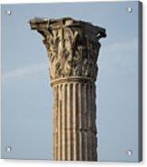 Corinthian Columns At The Roman Forum Acrylic Print