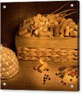 Cork And Basket 1 Acrylic Print