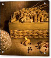 Cork And Basket 3 Acrylic Print