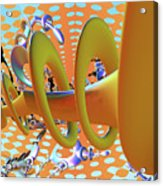 Corkscrew Acrylic Print