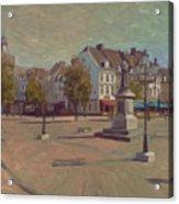 Corner Bosch Street And Market Maastricht Acrylic Print