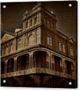 Corner Building Acrylic Print