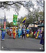 Corner Club 4 - Mardi Gras New Orleans Acrylic Print
