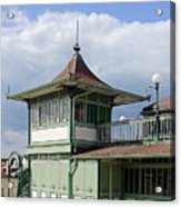 Corner Detail Of The Pavilion - Ryde Acrylic Print