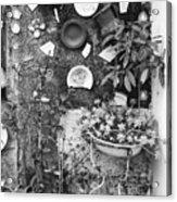 Corner Garden - Sao Miguel - Azores Acrylic Print