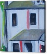 Corner House On Staten Island Acrylic Print