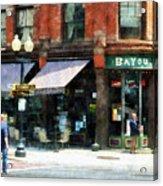 Corner Of Columbia And Pearl Albany Ny Acrylic Print