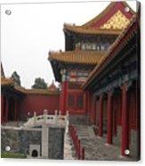 Corner Of The Forbidden City Acrylic Print