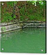 Corner Of The Lake Acrylic Print