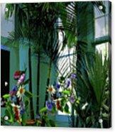 Corner Office, Key West, Fl Acrylic Print
