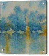 Cornish Blue Acrylic Print