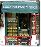 Cornish Pasty Shop Acrylic Print