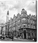 cornwall buildings on the corner of newhall street and cornwall st Birmingham UK Acrylic Print