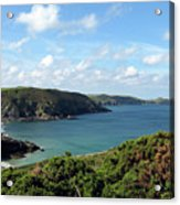 Cornwall Coast II Acrylic Print