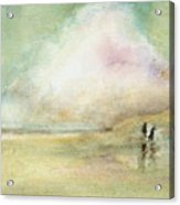 Corolla Beach Stroll Acrylic Print