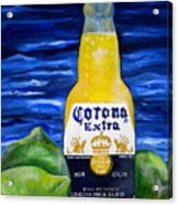 Corona Acrylic Print by Patti Schermerhorn