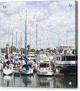 Coronado Boats II Acrylic Print