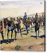 Coronados March, 1540 Acrylic Print