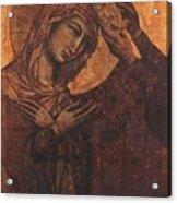 Coronation Of The Virgin 1311 Acrylic Print