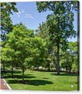 Corr Hall Green Space Acrylic Print