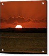 Corralejo Fuerteventura Sunset Acrylic Print