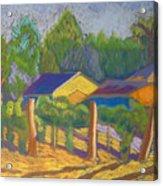 Corrales Vinyard Acrylic Print