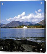 Corran Lighthouse Western Shore Loch Linnhe Fort William Scotland Acrylic Print