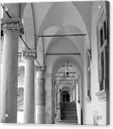Corridor In Wawel Acrylic Print