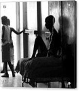 Corridor Of Haitian Hospital Acrylic Print