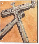 Corroded Trumpet Pistons Acrylic Print