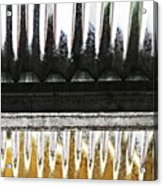 Corrugated Metal Abstract 8                              Acrylic Print