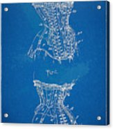 Corset Patent Series 1908 Acrylic Print