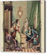 Corset Trade Card, 1912 Acrylic Print