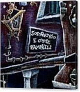 Corte Zambelli - Contemporary Venetian Artist Acrylic Print