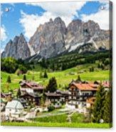 Cortina D'ampezzo, Italy Acrylic Print