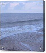 Corton Beach Dawn Ocean Waves 1 Acrylic Print