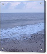 Corton Beach Dawn Ocean Waves 3 Acrylic Print