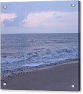 Corton Beach Dawn Ocean Waves 7 Acrylic Print